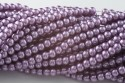 ROUND WAXED BEADS 4 mm